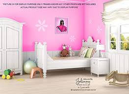 African American Princess Poster For The Nursery Kids Bedroom Wall Decor Pink Unframed 8 X10 Art Print Children S Room Dark Skin Black Hair Girl Ufumbuzi Home