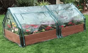tool free classic sienna raised garden