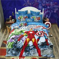avengers reactive printing bedding set