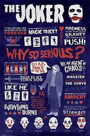 batman the dark knight joker quotes poster maxi posters