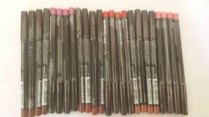makeup 20x mixed coloured lip liners