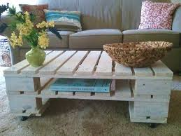 pallet coffee table wood pallet