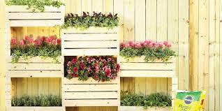 Vertical Planter Diy Home Depot Garden Project