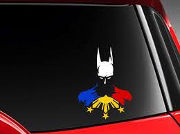Filipino Vinyl Car Decal Sticker 6 H W Hero Batman Etsy