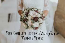 plete list of norfolk wedding venues
