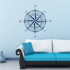 Compass Vinyl Removable Wall Sticker Round Compass Decal Diy Home Decoration Sale Price Reviews Gearbest