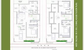 elite west facing house plans design