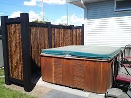 Bamboo Privacy Screens Bing Images Hot Tub Outdoor Hot Tub Privacy Hot Tub Backyard