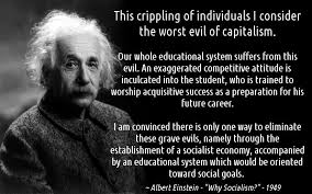 albert einstein quote on socialism and capitalism einstein