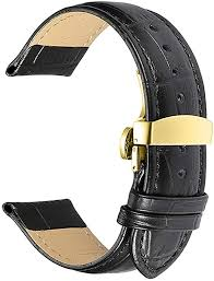 watch bands genuine leather strap
