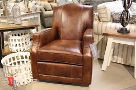 leather swivel glider 9988 redekers