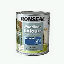Ronseal Woodland Colours Colur Bluebell
