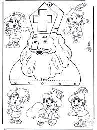 Mobile Sinterklaas Knutselen Sint