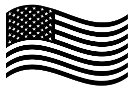 Waving American Flag Vinyl Decal Bumper Sticker Truck Car Windows Outdoors Ebay