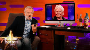Dame Judi Dench Helps Graham Norton ...