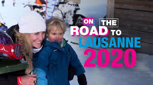 On the Road to Lausanne 2020 - Fanny Smith - YouTube