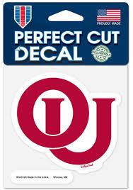 Shop Oklahoma Sooners Car Decals Ou Sooners Window Stickers Oklahoma Sooners Clings Decals