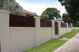 Another Wall Idea Compound Wall Design Boundary Walls Concrete Fence Wall
