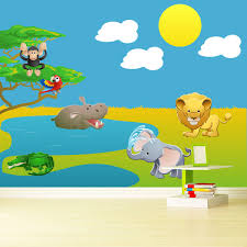Safari Scene Wall Decal Pack Wall Decal World