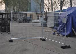 Construction Removable Temporary Fencing Temporary Chain Link Fence Panels