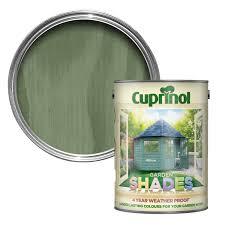 Cuprinol 1l Garden Shades Paint Willow Leekes