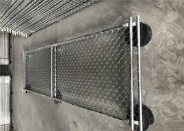6 X10 Chain Link Construction Fence Panels Mesh 2 5 X2 5 Diameter 2 5mm For Sale Building Construction Fence Manufacturer From China 108405546
