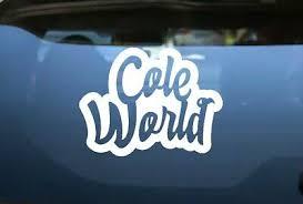 Cole World J Cole Decal Sticker Car Window Decal Wall Sticker Laptop Decal Ebay