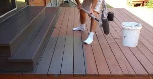 oil based water based deck stain