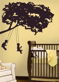 Kids On Swing Peel Stick Giant Wall Decal Wall Decal Allposters Com Kids Room Wall Decals Kids Wall Decals Kid Room Decor