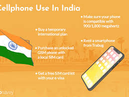 overseas cell phone in india
