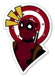 Deadpool Stickerapp