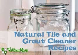 natural tile and grout cleaner recipe