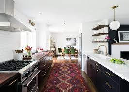 midcentury modern open concept kitchen