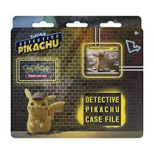 Pokemon TCG: Detective Pikachu Case File + 3 Booster Pack + A ...