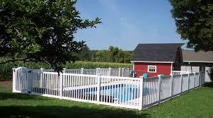 Plain Jane Vinyl Fence Wambam Fence Aluminum Pool Fence Fence Around Pool Pool Fence