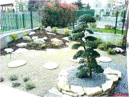 front yard landscaping with rocks