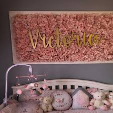 Wooden Name Sign Custom Wood Name Sign Personalized Wood Name Etsy Girl Nursery Room Kid Room Decor Baby Girl Room