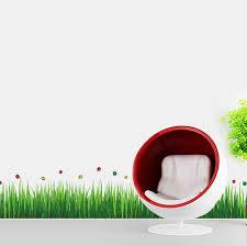 Ebern Designs Colorful Ladybird Grass Wall Decal Reviews Wayfair