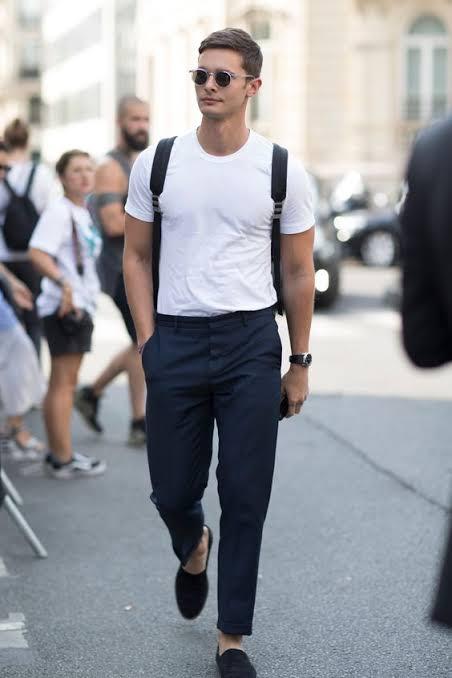 Resultado de imagem para camisas dentro da calça homem
