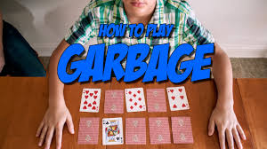 card games for kids garbage you