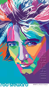 Pin by Adele Sullivan on Projects to Try | Pop art portraits, Pop art, Rod  stewart