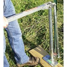 Jackjaw 205 T Fence Post Puller Jj0205 Engineersupply
