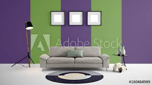 High Resolution Purple And Green Stripe Empty Wall And Painting Frames For Advertisement Wall Papers Wall Decals Wall Art Paintings Etc Buy This Stock Illustration And Explore Similar Illustrations At Adobe