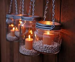 lanterns beans diy hanging mason jar