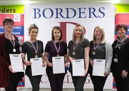 Borders College students make final cut in hair and beauty competition |  The Southern Reporter
