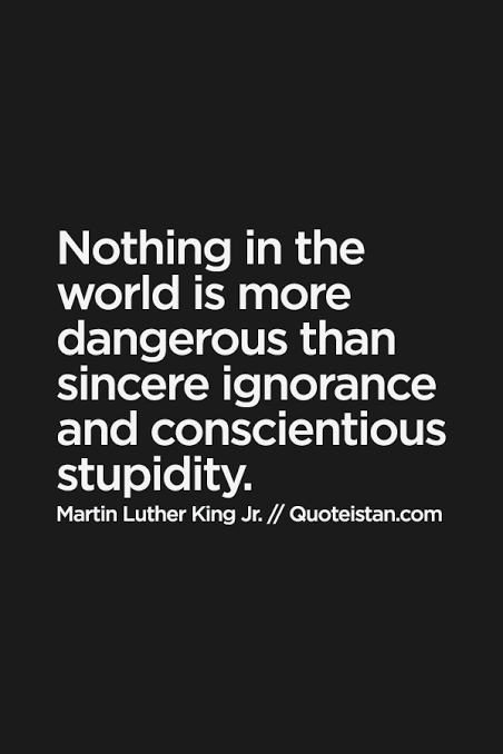 Quotes about ignorance