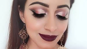 full glam makeup look for wedding party