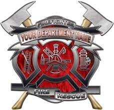 Custom Firefighter Decals Weston Signs
