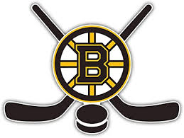 Amazon Com Hotprint Bruins Hockey Boston Sticks Sport Car Bumper Sticker Decal 5 X 4 Kitchen Dining