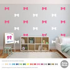 Bow Wall Stickers For Kids Room Decor Vinyl Wall Decal Nursery Decoration 2 Sizes Sticker For Kids Room Wall Stickers For Kidswall Sticker Aliexpress